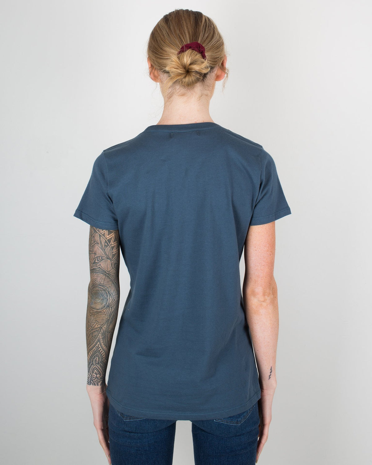 Milo in Maine Clothing Navy - Maine / XS Short Sleeve Crew In Dark Blue
