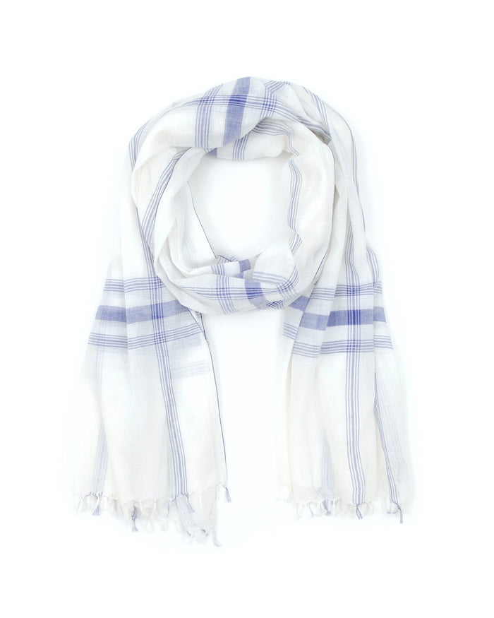 Mois Mont Accessories Japan Blue / O/S Plaid Khadi