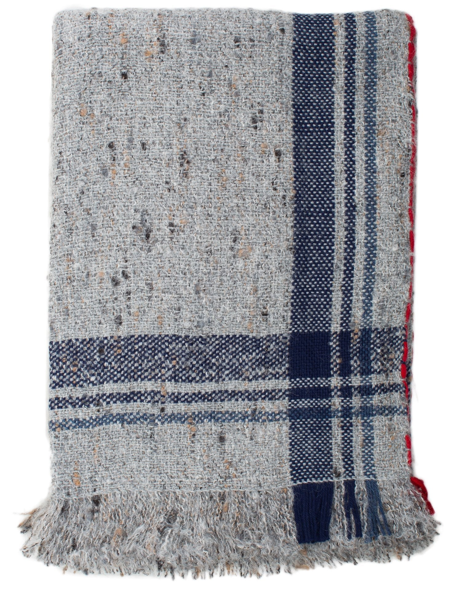 Mois Mont Home Light Grey / O/S Tipped Blanket