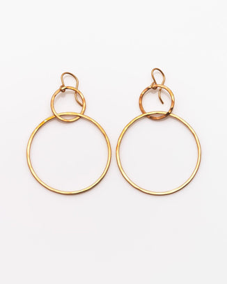Nashelle Jewelry Gold / O/S Luna Earrings in Gold