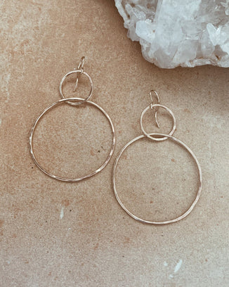 Nashelle Jewelry Silver / O/S Luna Earrings in Silver