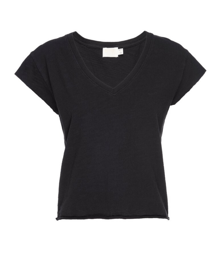 Nation LTD Clothing Grace Top in Jet Black
