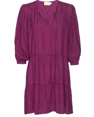 Nation LTD Clothing Liza Trapeze Mini in Berry