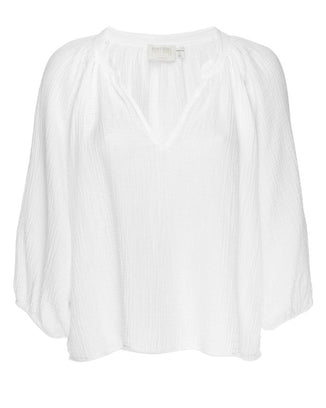 Nation LTD Clothing Mimi Romance Top in White