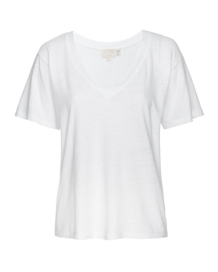 Nation LTD Clothing Nina Vintage Top in White