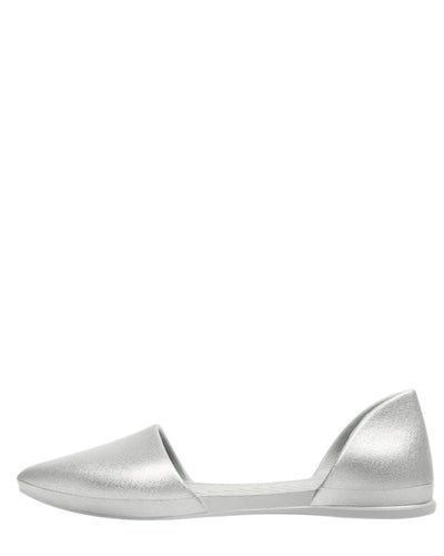 Native Shoes Silver / 6 Audrey in Silver Metallic