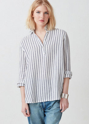 Not Monday Clothing Maddie Tunic in Stripe