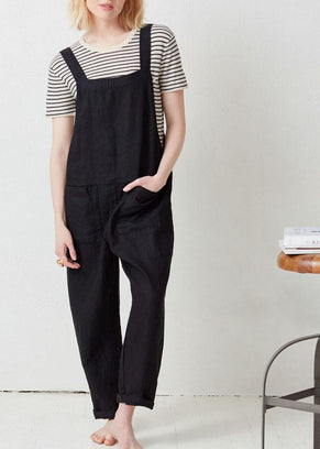 Not Monday Clothing Willa Jumpsuit in Black