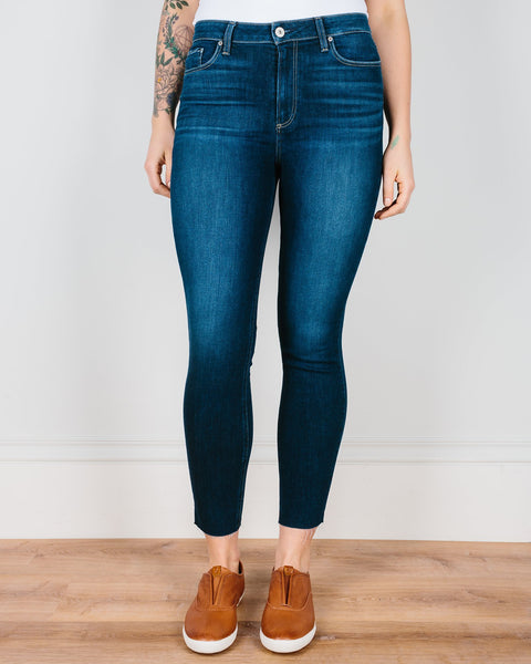 Paige Premium Denim Denim Greece / 25 Hoxton Ankle Skinny in Greece