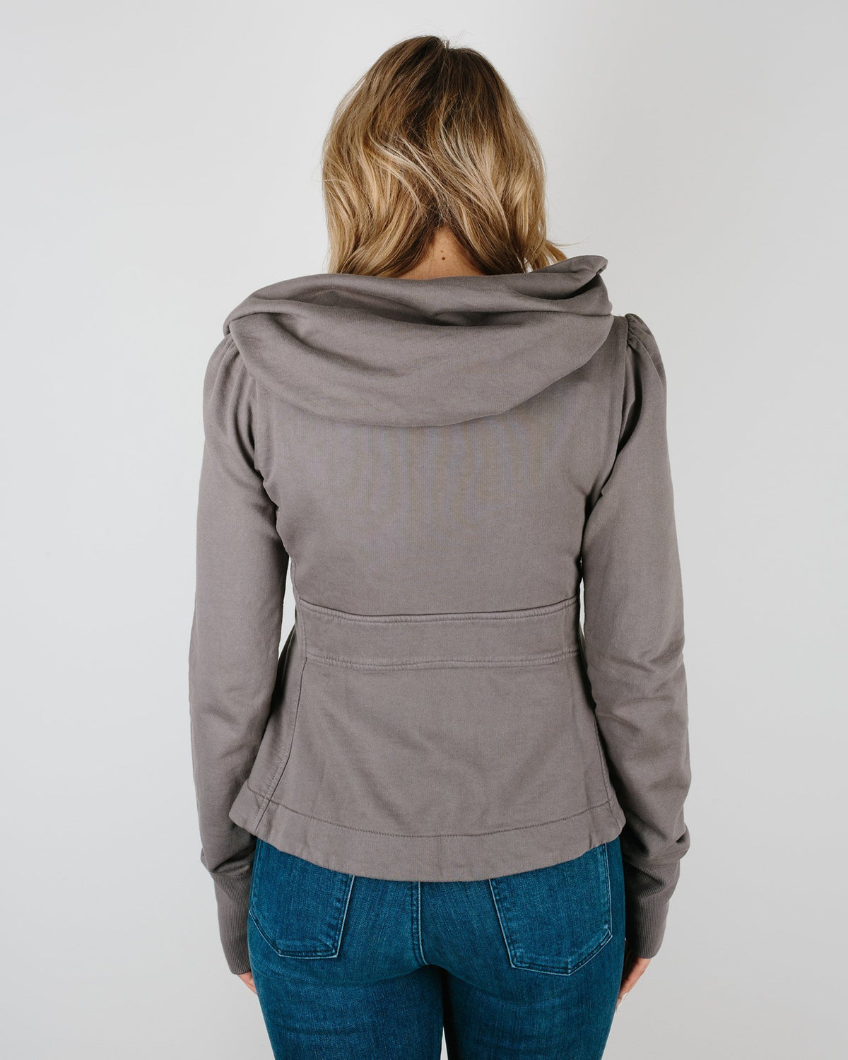 Prairie Underground Clothing Cloak Hoodie in Dior Gray