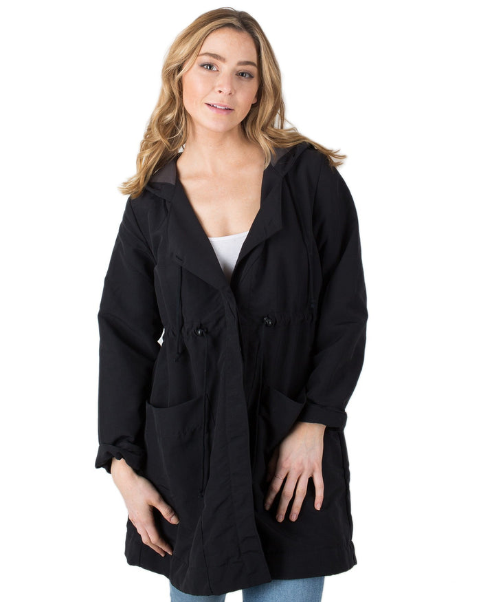 Prairie Underground Outerwear Black / XS Crosswalk Raincoat