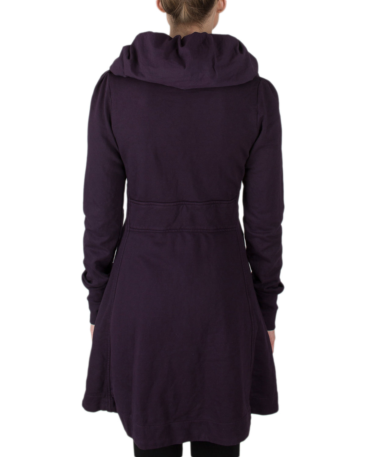 Prairie Underground Clothing Long Cloak Hoodie in Ink Pot