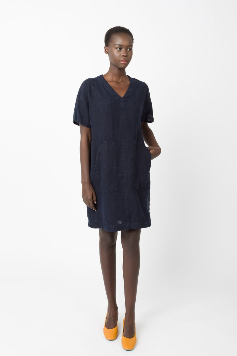 Prairie Underground Clothing Midnight / XS Unstructured Dress in Midnight