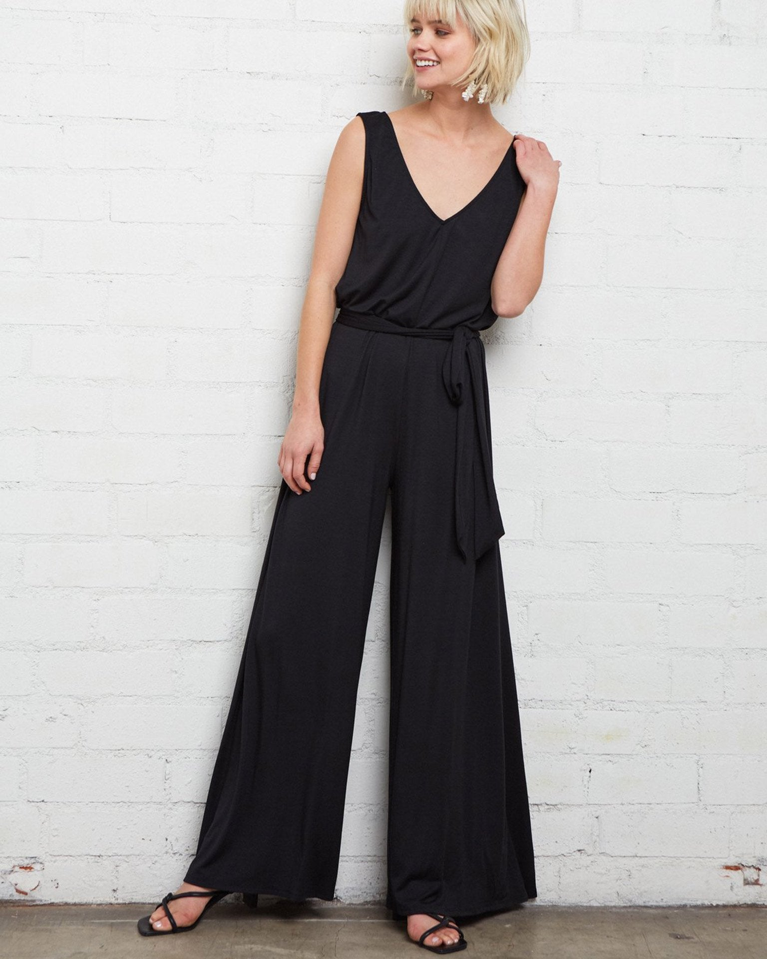 Rachel Pally Clothing Black / XS Jasmine Jumpsuit in Black