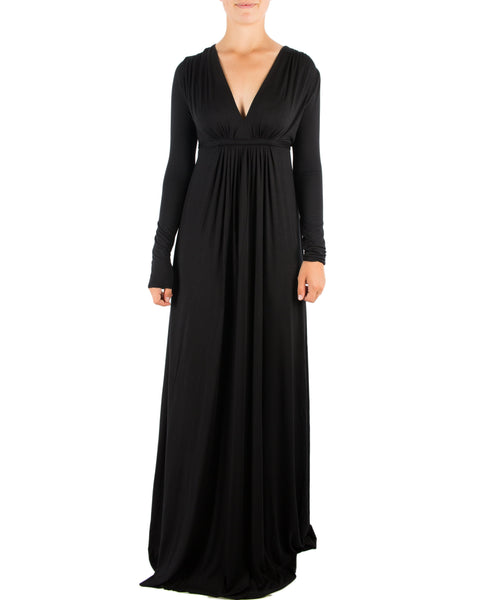 Rachel Pally Clothing Black / XS L/S Full Length Caftan