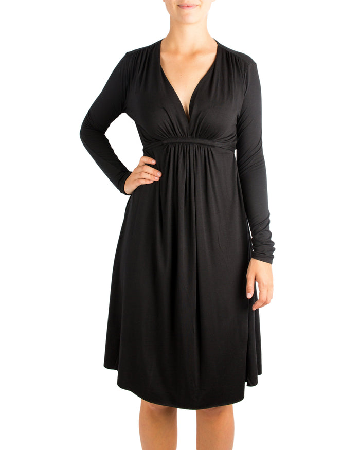 Rachel Pally Clothing Black / XS Long Sleeve Caftan