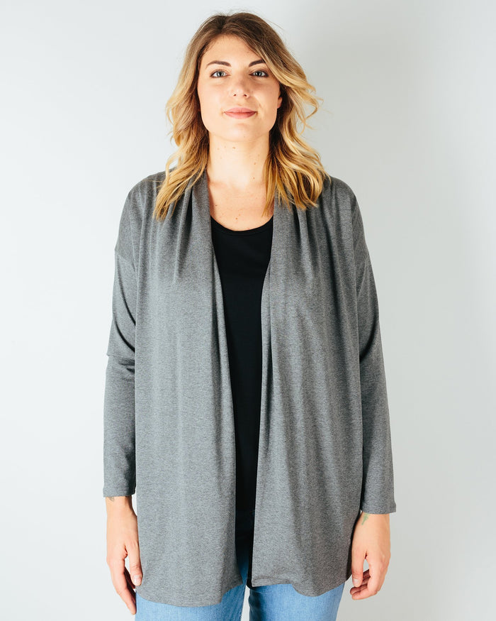 Sarah Liller San Francisco Clothing Granite / XS Bella Cardigan in Granite