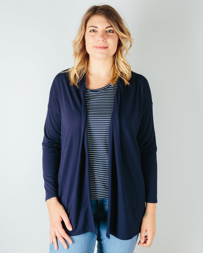 Sarah Liller San Francisco Clothing True Navy / XS Bella Cardigan in True Navy