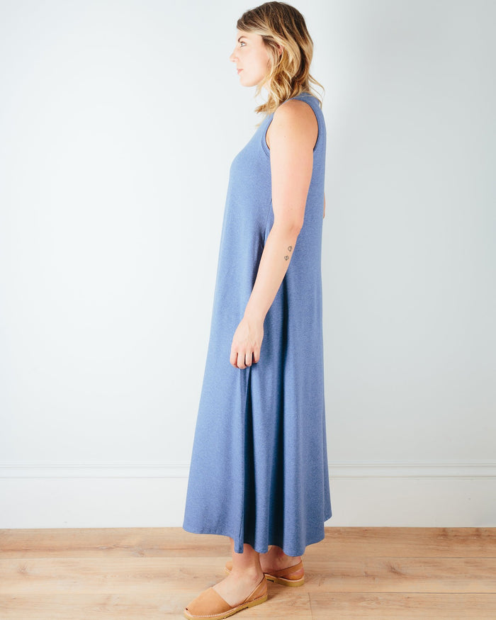 Sarah Liller San Francisco Clothing Josephine Dress in Chambray