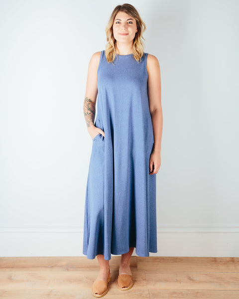 Sarah Liller San Francisco Clothing Chambray / XS Josephine Dress in Chambray