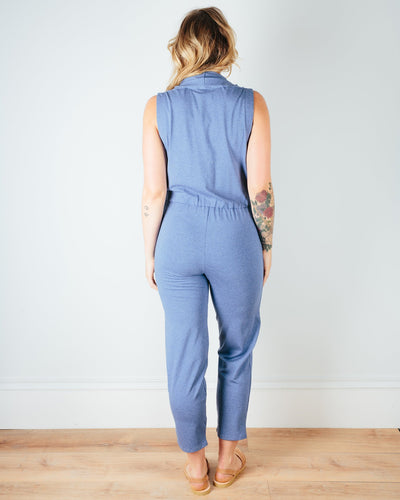 Sarah Liller San Francisco Clothing Penelope Jumpsuit in Chambray