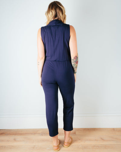 Sarah Liller San Francisco Clothing Penelope Jumpsuit in True Navy