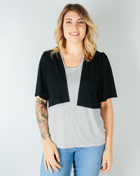 Sarah Liller San Francisco Clothing Black / XS Sophia Jacket in Black