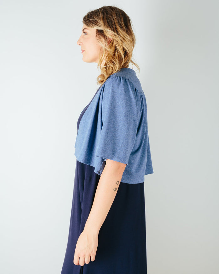 Sarah Liller San Francisco Clothing Sophia Jacket in Chambray