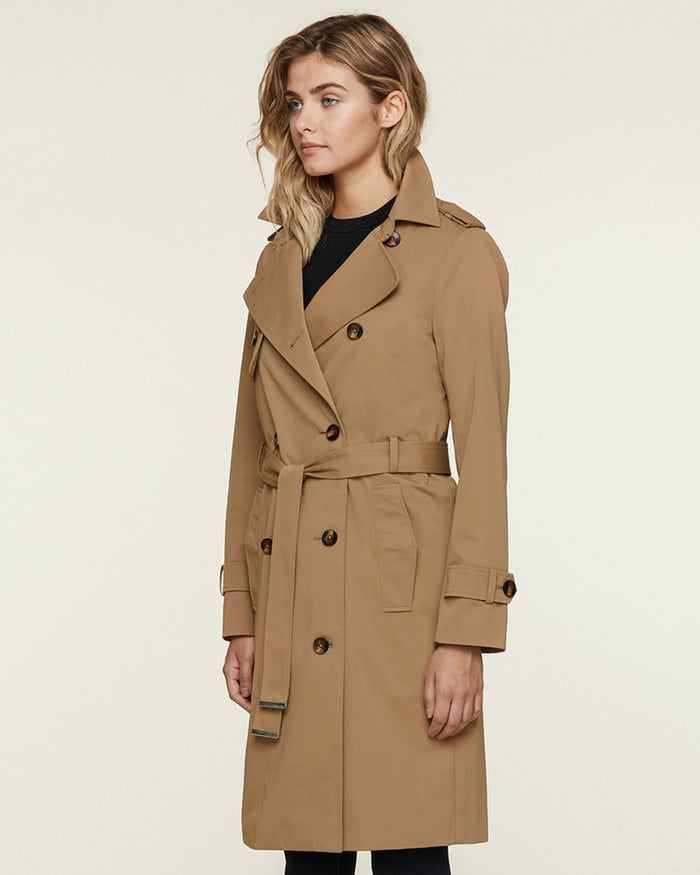 Soia and Kyo (APP Group) Outerwear Almond / S Brigitta Coat with Belt