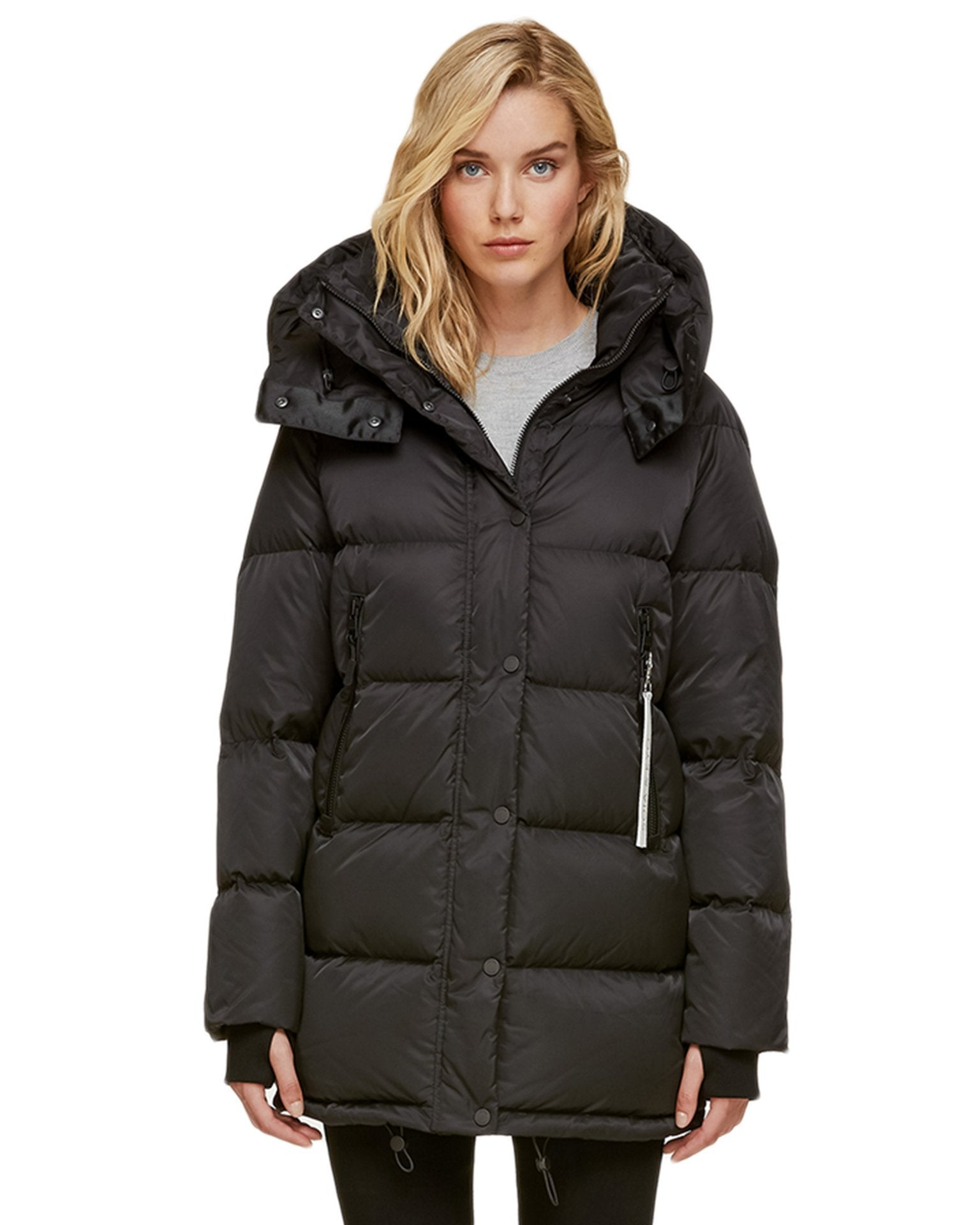 Soia and Kyo (APP Group) Outerwear Black / S Marilee Water Repellent Sporty Down Jacket