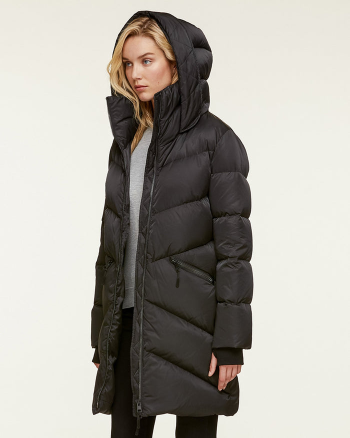 Soia and Kyo (APP Group) Outerwear Black / S Wendelle Water-Repellent Sporty Jacket