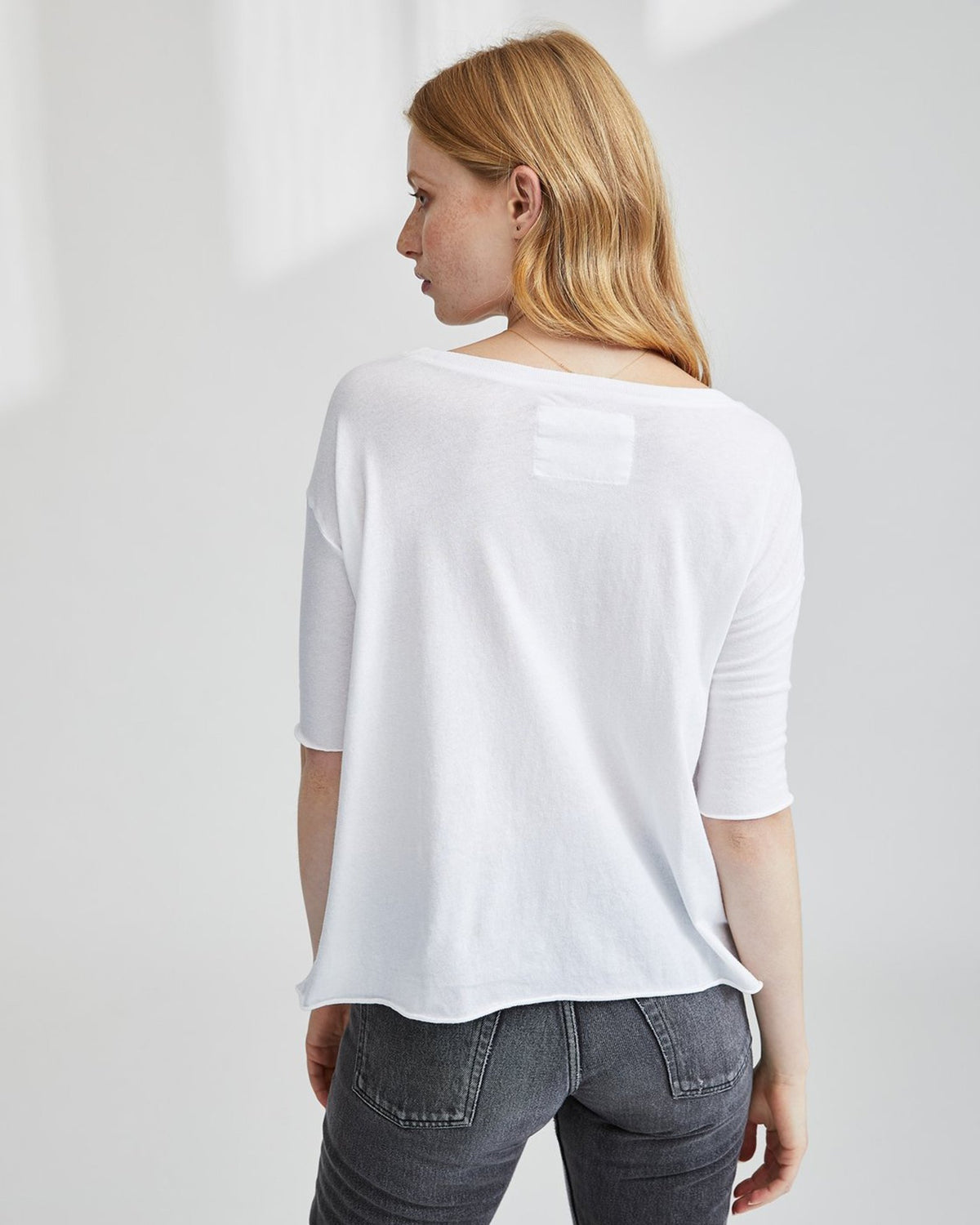 Tee Lab Clothing Essential Jersey Core Tee in White