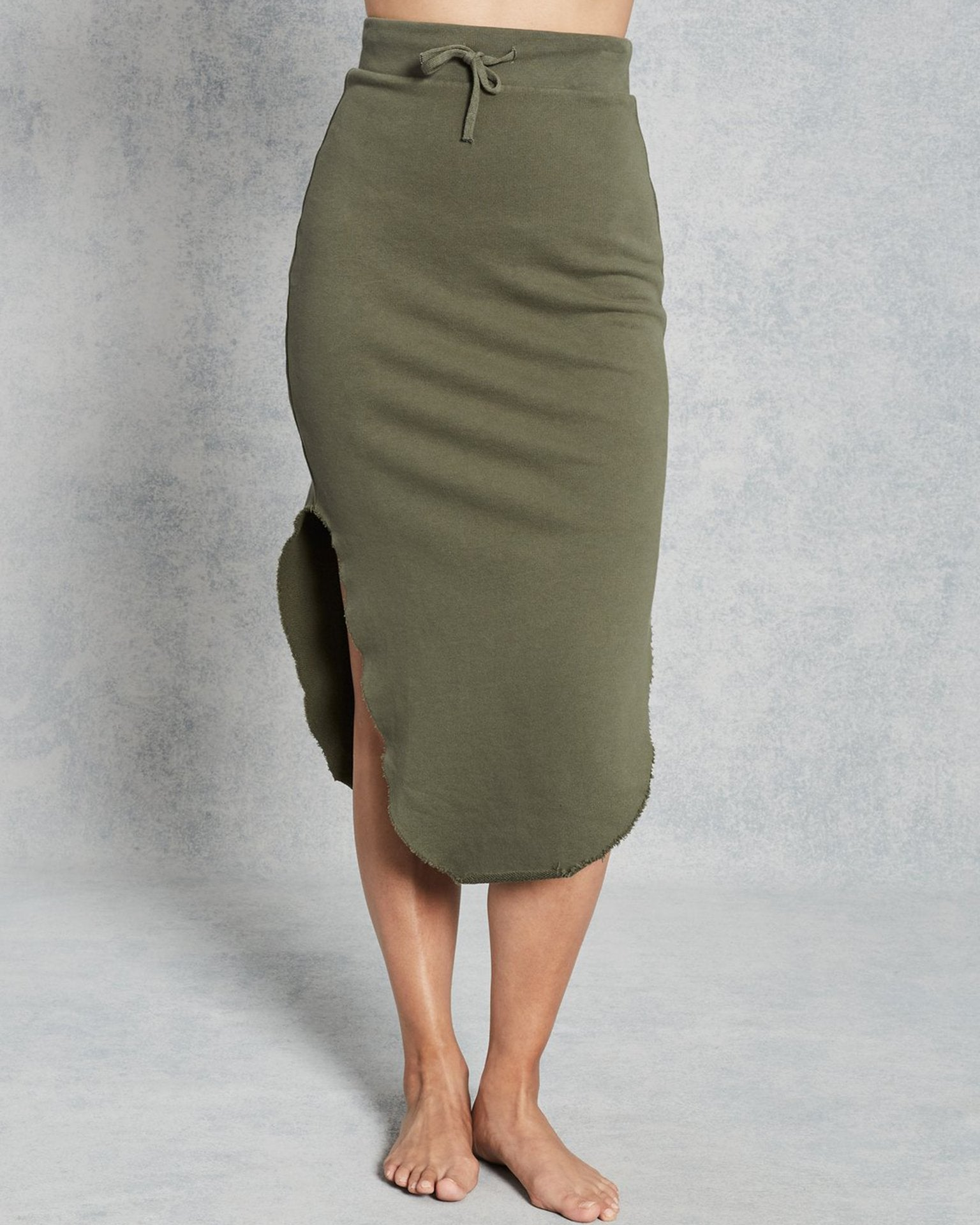 Tee Lab Clothing British Army / XS Long Fleece Skirt in British Army