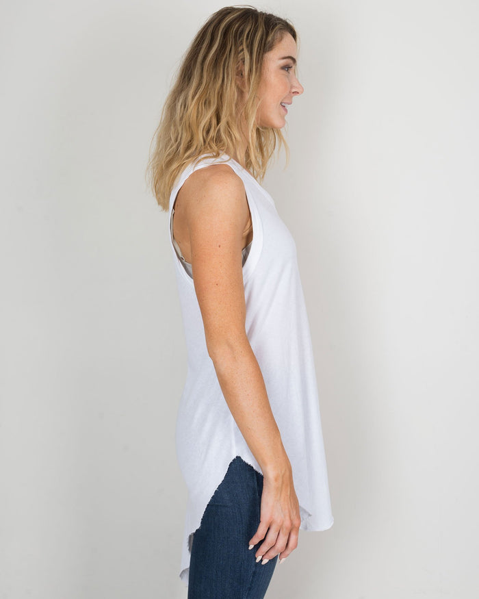 Tee Lab Clothing Whiteout / XS Muscle Tunic