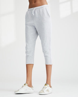 Tee Lab Clothing Grey Melange / XS Raw Hem Sweatpants in Grey Melange