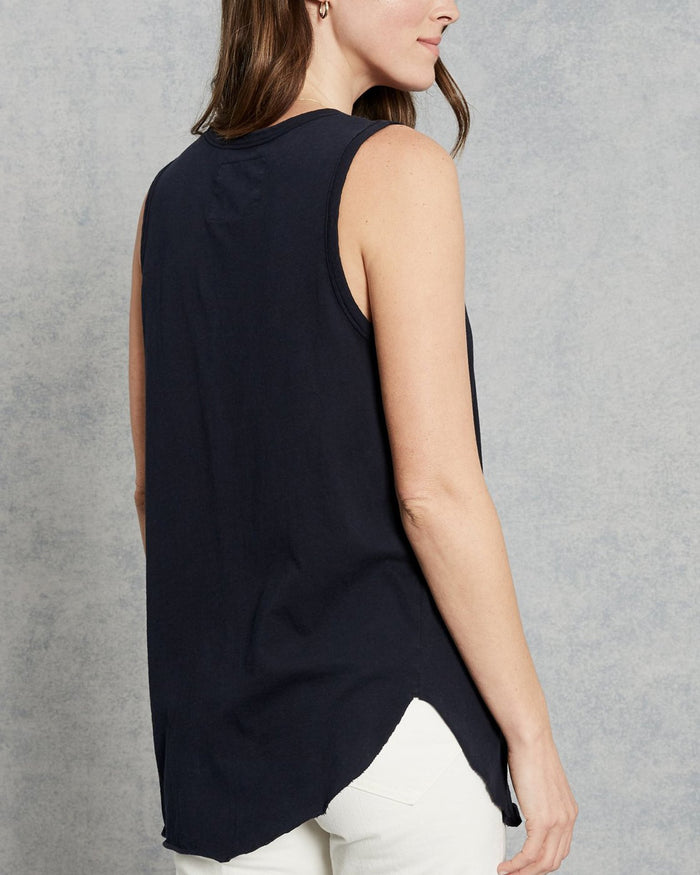 Tee Lab Clothing Relaxed Asymmetric Tank