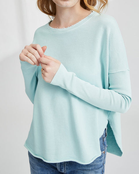 Tee Lab Clothing Excite Mint / XS Relaxed Long Sleeve Sweatshirt
