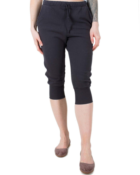 Tee Lab Clothing Carbon / XS Super Crop Sweatpant