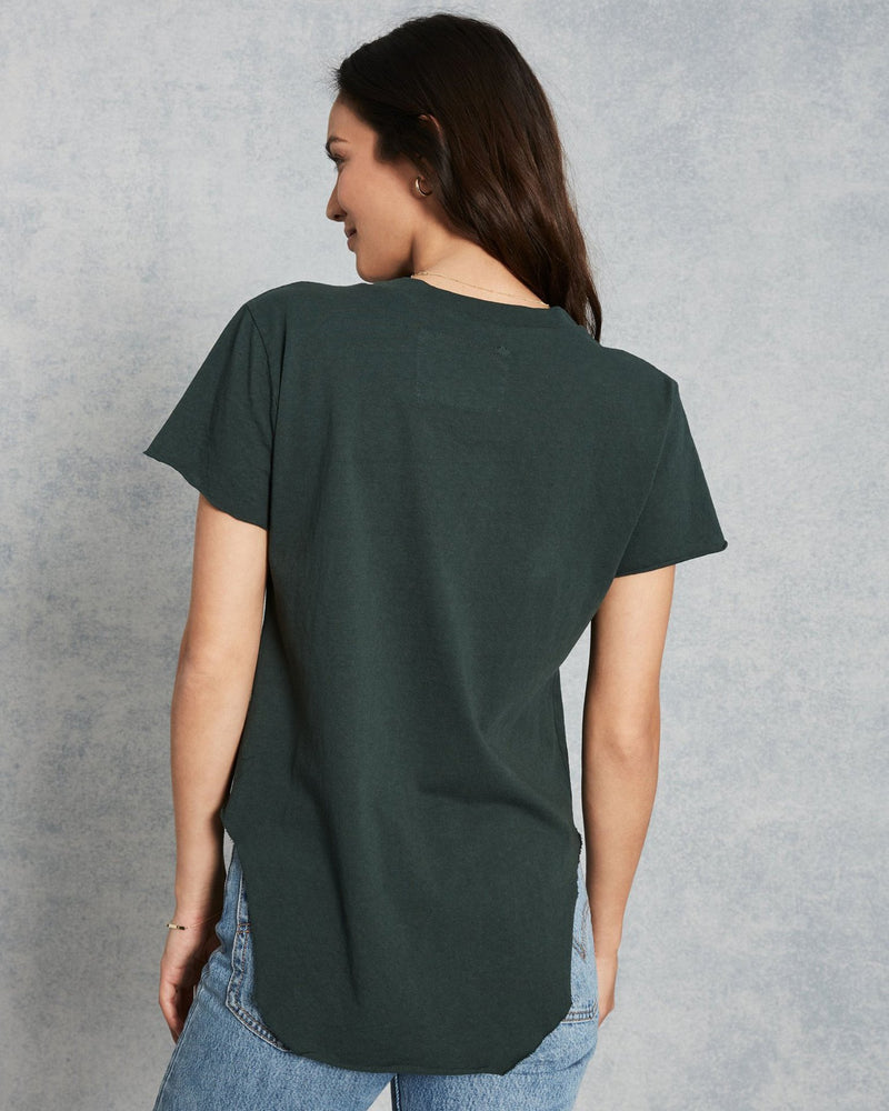 Tee Lab Clothing Vintage Tee in British Racing Green