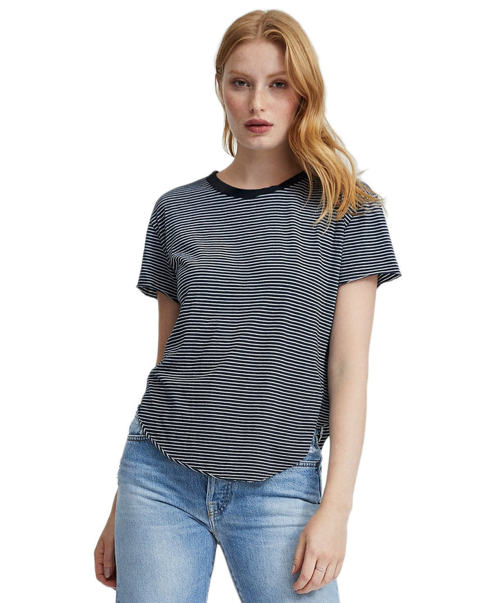 Tee Lab Clothing Private School Stripe / XS Vintage Tee in Private School Stripe