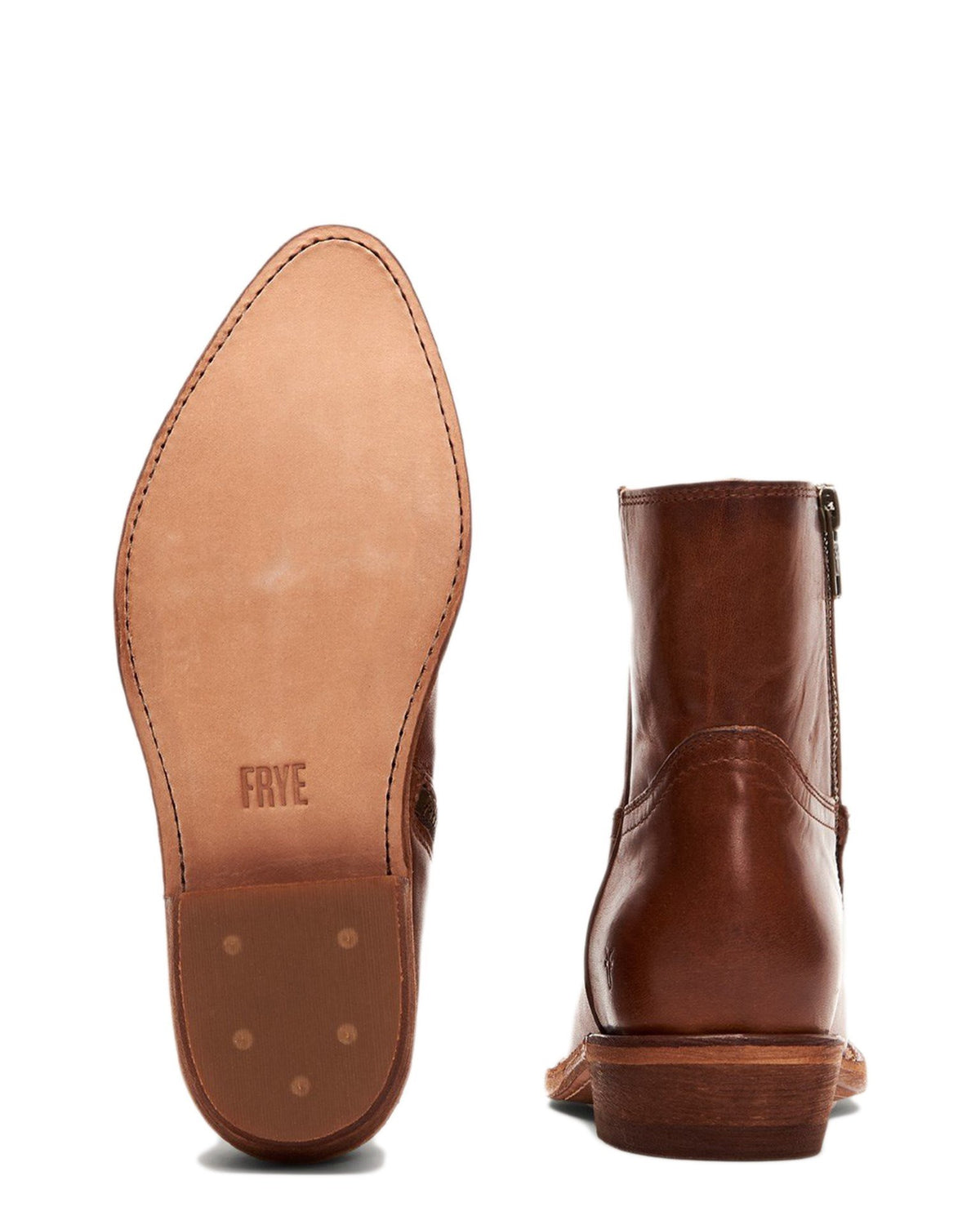 The Frye Company Shoes Billy Inside Zip Bootie