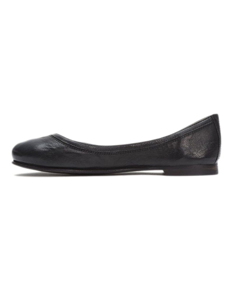 The Frye Company Shoes Carson Ballet in Black
