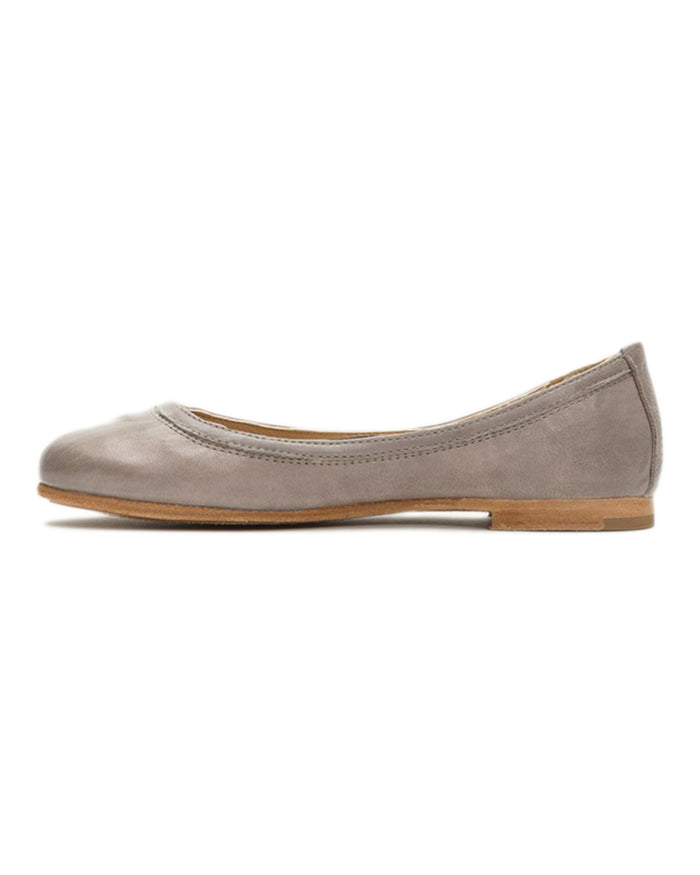 The Frye Company Shoes Carson Ballet in Grey
