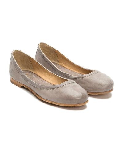 The Frye Company Shoes Grey / 9.5 Carson Ballet in Grey