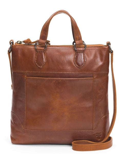 The Frye Company Accessories Cognac / O/S Melissa Small Tote Crossbody