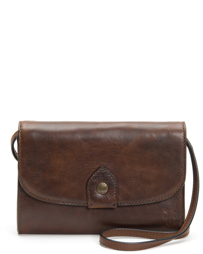 The Frye Company Accessories Dark Brown / O/S Melissa Wallet Crossbody