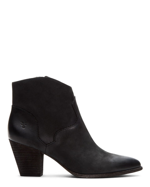 The Frye Company Shoes Black / 6 Reed Bootie in Black