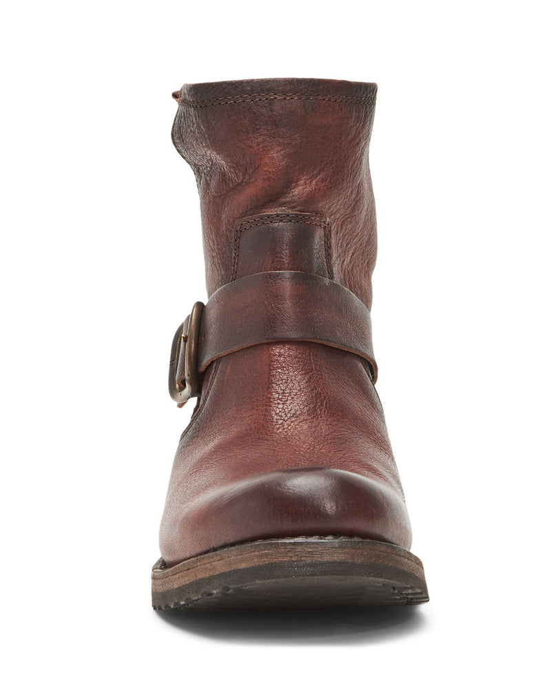 The Frye Company Shoes Veronica Bootie in Redwood
