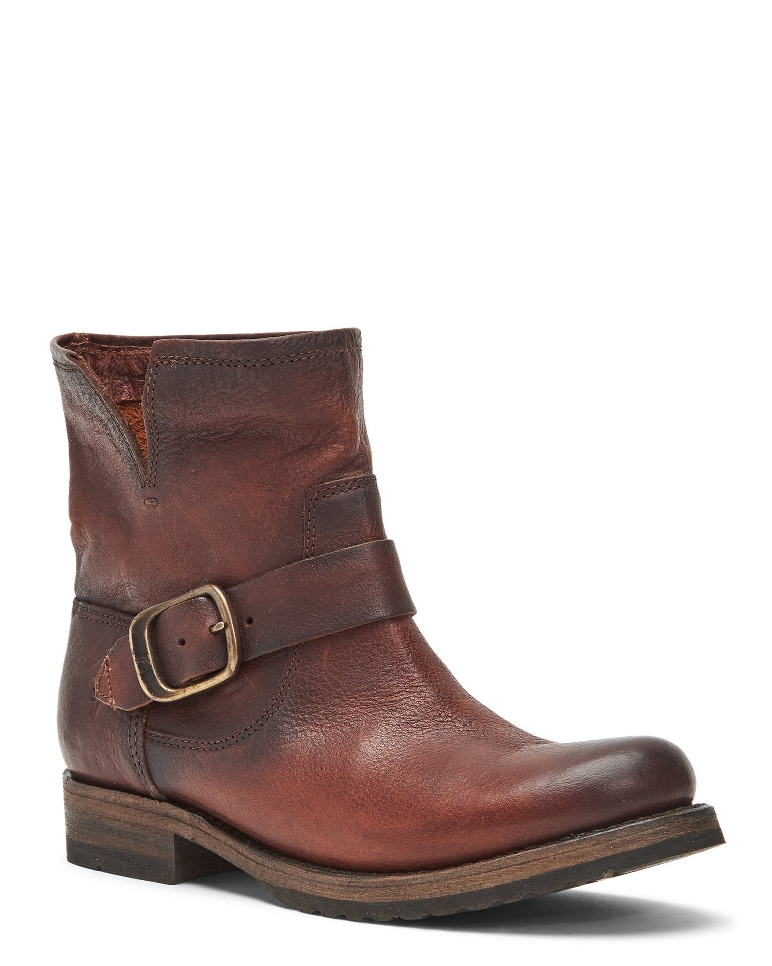 The Frye Company Shoes Redwood / 6 Veronica Bootie in Redwood