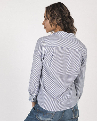Trovata Birds of Paradis Clothing Rory Shirt in Mariners Stripe